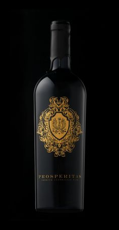 Prosperitas Wine (Branding and Label Design) by Gjoko Muratovski, via Behance | #packaging #design