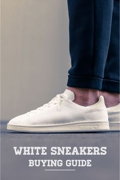 4 Ways To Flaunt Your White Sneakers Outfit in Style ⋆ Men's Fashion Blog - TheUnstitchd.com