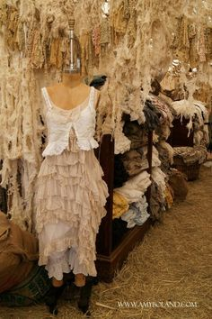 The Ghost Whisperer.  Lots of women embraced this romantic victorian style I did for Melinda Gordon on Ghost Whisperer. #josephporrodesigns