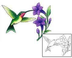 Resultado de imagen de hummingbird and butterfly tattoos