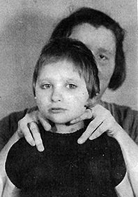 Ingrid Hahn 1939. Ingrid was transported to Eichenburg Institution from Alsterforf Asylum 4 years later on August 7th then sadly murdered in the gas chamber on September 1st at age 10.