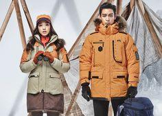 TOP (Choi Seung Hyun) and Park Shin Hye ♕ #BIGBANG // MILLET's F/W 2014