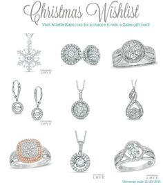 Atta Girl Says | Zales Christmas Wishlist and Giveaway | http://www.attagirlsays.com #sponsored #ZalesWishList