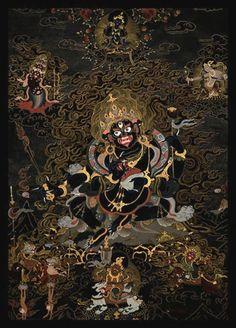 Mahakala, my vajra hero