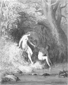 Paradise Lost illustrations, Dore
