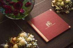Red Wedding Card | Nayantara + Saurabh | Indian Wedding Blog | Think Shaadi