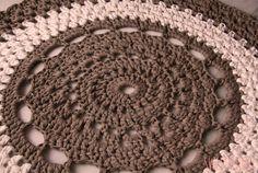 Detalle de lafombra de ganchillo XXL