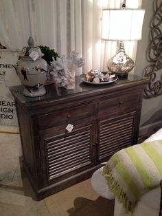 New shutter cabinet at Lionheart Collection
