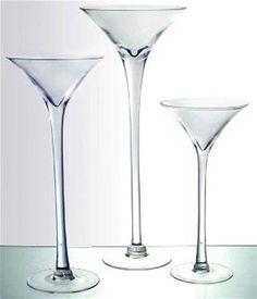 "Martini Glass Vase 16"" 20"" 23"" Wedding Centerpiece Tall Giant Jumbo Extra Large #PartySpin"