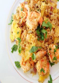 Low FODMAP and Gluten free - Shrimp fried rice with pineapple, egg & ginger  (update) http://www.onesano.com/#!shrimp-fried-rice/pf7j1