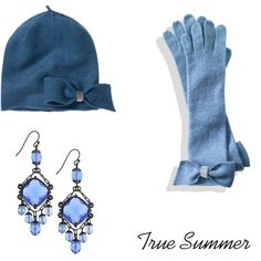 A fashion look from December 2010 featuring 1928 earrings, knit gloves and knit hats. Browse and shop related looks.