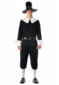 Mens Pilgrim Costume #Thanksgiving