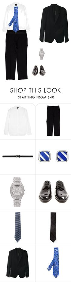 """At the prizes"" by jesica-d-psc on Polyvore featuring Givenchy, Yves Saint Laurent, Phillip Gavriel, Joe Rodeo, Hermès, Express, Alexander McQueen, Canali, men's fashion and menswear"