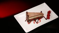 Triple Chocolate Cheesecake - My Kitchen Rules - Official Site No Bake Treats, No Bake Desserts, Delicious Desserts, Dessert Recipes, Yummy Food, Dishes Recipes, Tasty, Triple Chocolate Cheesecake, My Kitchen Rules