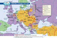 Europe: Before and After the Great War of 1914-1918. | Maps | Europe ...