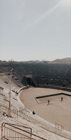 Verona Arena is a Roman amphitheatre in Piazza Bra in Verona, Italy Verona Italy, Italy Travel, Roman, Louvre, Bra, Building, Pictures, Brassiere, Photos