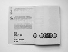 1984 by George Orwell // publication design // illustration // typography // geometry // book