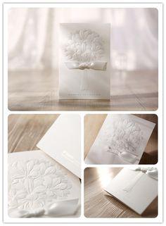Top Ribbon wedding invitations -InvitesWeddings.com
