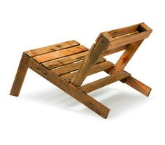 Pallet Chair by Studio Mama #pallet #wood