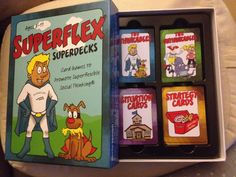 Superflex Superdecks are card games created to invoke your own superflexible thinking as you teach students to be more superflexible social thinkers. http://www.socialthinking.com/books-products/superflex/superflex-superdecks-detail. They are part of the Superflex curriculum.  Books should be introduced in this order: 1. You Are a Social Detective! 2. Superflex: A Superhero Social Thinking Curriculum 3. Superflex Takes on Rock Brain and the Team of Unthinkables