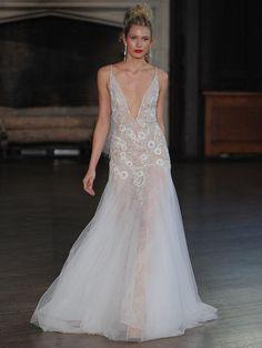 Berta Bridal Fall 2017 Wedding Dresses Full Of Illusion Lace And Appli - Yalan Wedding Couture #weddingdress # wedding gown #weddingdress #wedding #weddingdresses #weddinggown #bridalgown #bridaldress #weddinggowns #engaged