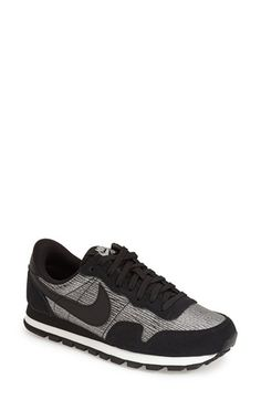 Free shipping and returns on Nike 'Air Pegasus 83' Sneaker (Women) at Nordstrom.com. Color-pop accents refresh a throwback Nike sneaker designed in a classic mix of suede and breathable mesh. Dual-density foam cushioning offers ultimate comfort, while the waffle-patterned sole provides enhanced traction.