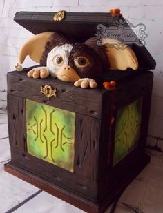 Gizmo - Cake by kerrycakesnewcastle #coupon code nicesup123 gets 25% off at Provestra.com Skinception.com