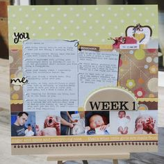 scrap booking ideas