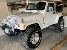 1998 Jeep TJ Fitment Gallery Browse the largest online truck fitment gallery, curated by enthusiasts, for enthusiasts. Jeep Tj, Jeep Wrangler Lifted, Jeep Rubicon, Lifted Ford, Jeep Cars, Jeep Truck, Gmc Trucks, Cheap Jeeps, Cool Jeeps