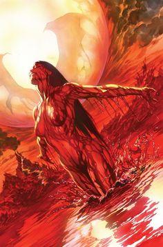 Vampirella #1, November 2010, Virgin Chase Cover by Alex Ross