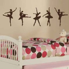 And the dancers . | 17 Spectacular Wall Decals That Will Totally Change Your Space