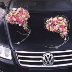 43 best Wedding Car Decorations images on Pinterest | Wedding Cars ...