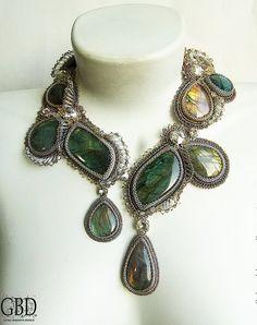 New amazing jewelry from Guzel Bakeeva | Beads Magic