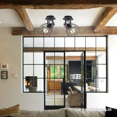 Modern Zen House, Rome Apartment, Underground Living, Industrial Kitchen Design, Surf Decor, Tiny House Plans, Steel Doors, Door Design, Home Remodeling