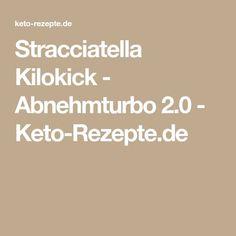 Stracciatella Kilokick - Abnehmturbo 2.0 - Keto-Rezepte.de