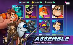 Free Amazon Android App of the day for 7/10/2018 only!     Normally $0.01 but for today it is FREE!!     Disney Heroes Battle Mode Product features Collect & battle with 25+ Disney & Pixar heroes, including the Incredibles, Wreck-It Ralph, Buzz Lightyear, Captain Jack Sparrow, Judy Hopps, WALLE, Mike Wazowski & more! Team up for missions and special campaigns Upgrade your characters with epic abilities & gear Explore a new digital world & save your fellow heroes!