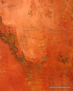 Venetian plaster faux finish walls home decorating painting Faux Walls, Textured Walls, Wall Colors, Paint Colors, Murs Oranges, Instalation Art, Polished Plaster, Tadelakt, Faux Painting