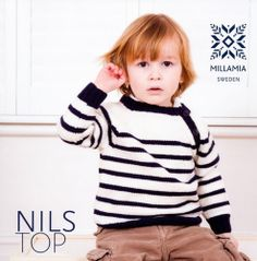 Boys' Nils Top in MillaMia Merino Wool - Boys - For - Patterns