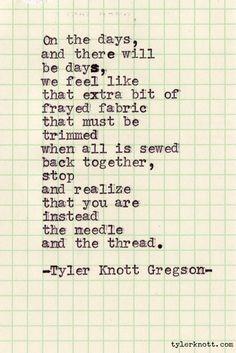 Typewriter Series #62 by Tyler Knott Gregson