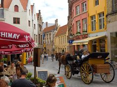 "The 10 Best Cities in Europe:  BRUGES, This perfectly preserved city traces its architectural splendor to the 12th to 15th centuries, when much of the old city was built. A city of canals, Bruges is often referred to as ""the Venice of the North."" A  wonderful and well-known collection of art-filled churches and museums exists including Michelangelo's Madonna and Child at The Church of Our Lady."