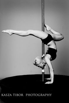 Pole Dance= dancing and gymanstics, it's like a playground!!