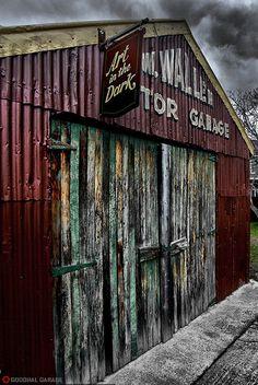 Garage http://goodhal.blogspot.com/2013/03/debris-018.html #Debris #Garage