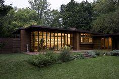 Herbert Jacobs House I. Madison, Wisconsin. 1937. Frank Lloyd Wright Usonian Style.