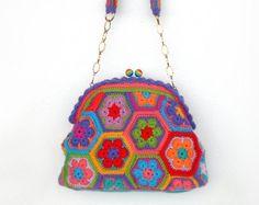 crochet bag – Etsy