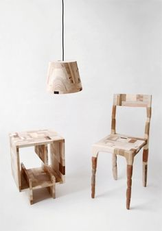 Factory waste transformed by Norwegian designer Amy Hunting - now this, I like!               #Innovation #Furniture #Recycle