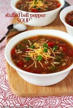 Yummy bellpepper soup