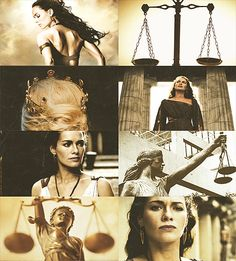 Mythology Meme → Four Titans [2/4] → Themis Themis was the Titan goddess of divine law and order—the traditional rules of conduct first established by the gods.