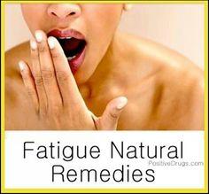 Fatigue Natural Remedies