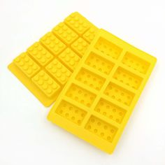 Stackable Lego Bricks Ice Mold Tray - One Cool Gift  - 1