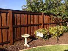 Awesome 6 Foot Board On Fence In Dallas Denton Using Postmaster Posts